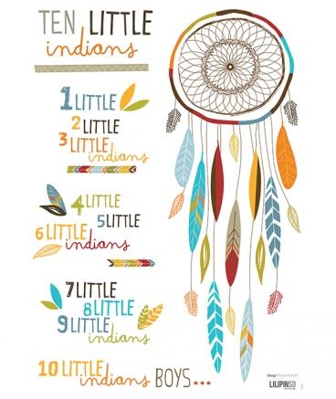 stickers-indien-attrape-reve-plume-garcon-chambre-bebe-enfan