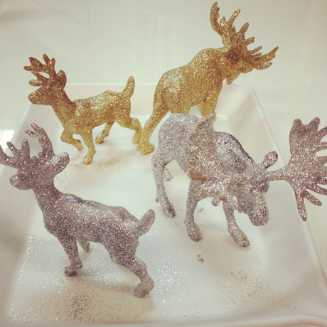 Sparkly-Animals-style at home