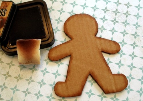gingerbread man DIY2