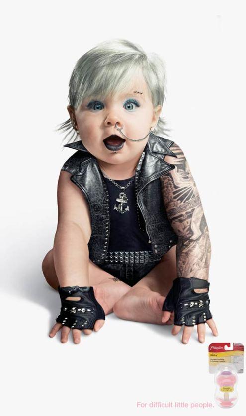 Bébé gothique