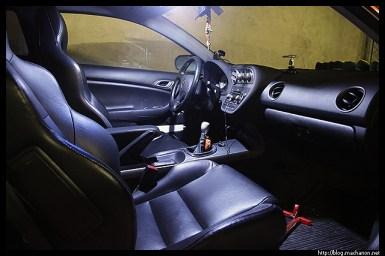 exLEDusa LED light: driver side map light on.