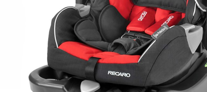 RECARO Performance Coupe Infant Car Seat In a 2012 Prius, Prius c