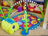 """Turtle-themed """"Grow-with-Me"""" Activity Gym & Ball Pit by Infantino"""
