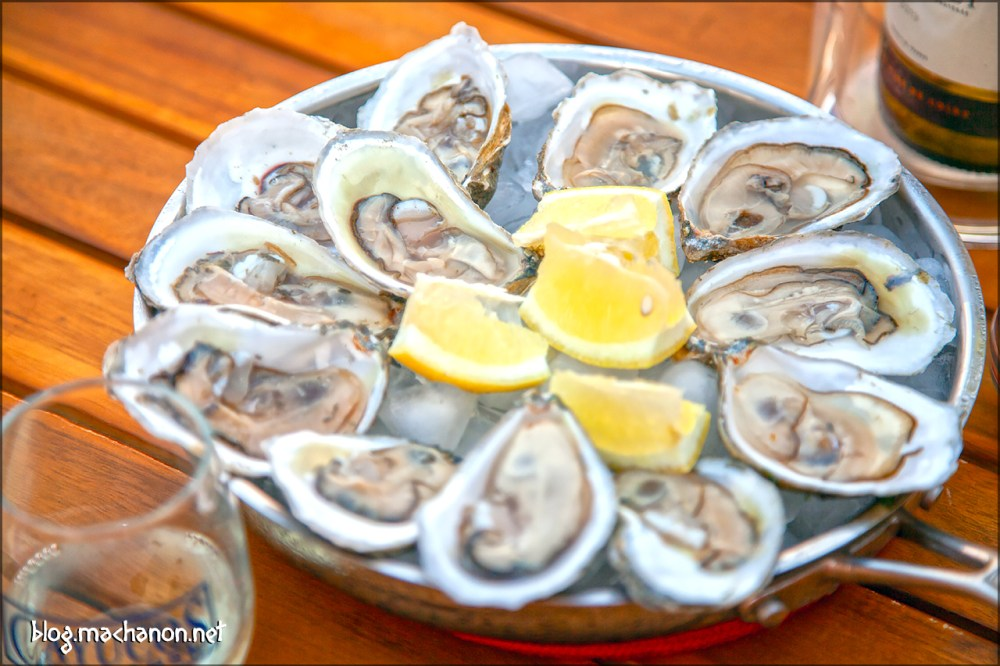 Island Creek Oysters ready for consumption