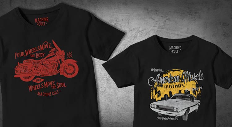 02454525c5 Camisetas de Carro e Moto - Machine Cult