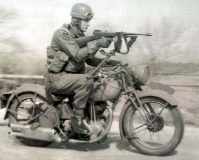 Moto Norton utilizada na II Guerra Mundial