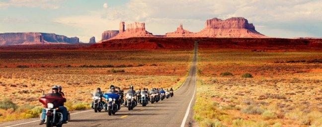 Rota 66 viagem de carro e moto