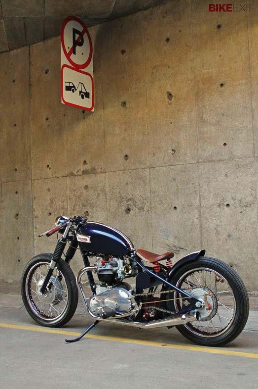 Moto estilo bober