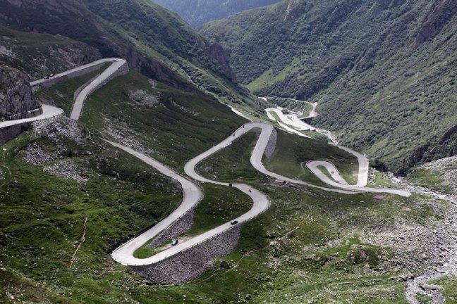Stelvio-Pass-Itália
