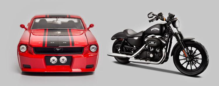 como iniciar uma coleção de miniaturas de carros e motos