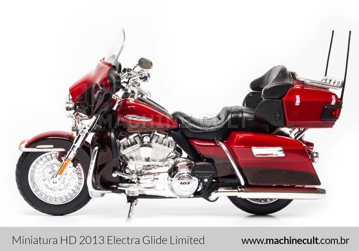 Miniatura Harley-Davidson 2013 FLHTK Electra Glide Limited