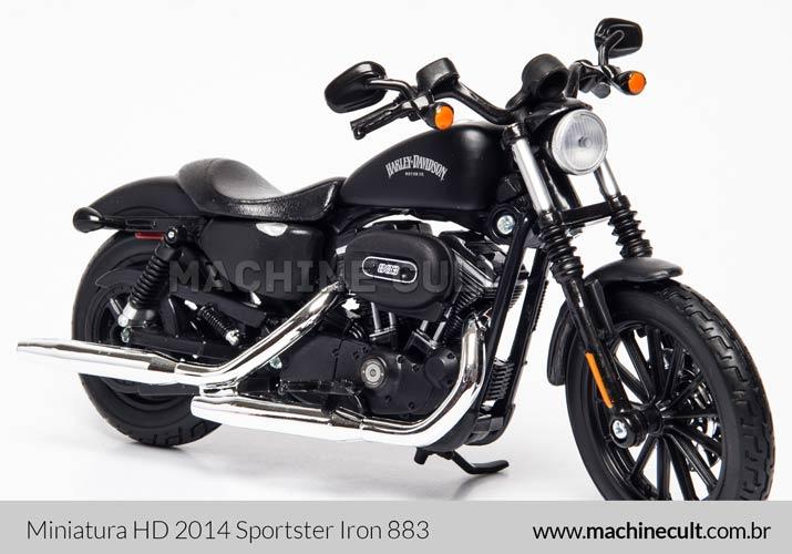 Miniatura Harley-Davidson 2014 Sportster Iron 883