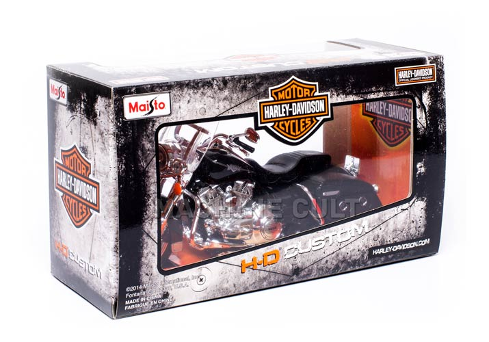 Caixa Miniatura Harley-Davidson escala 1:12 Maisto