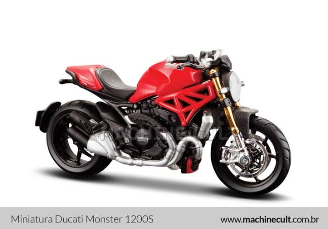 Miniatura Ducati Monster 1200S
