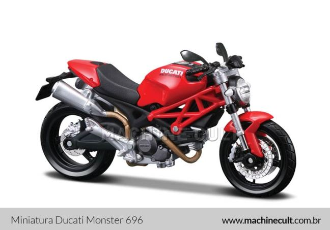 Miniatura Ducati Monster 696