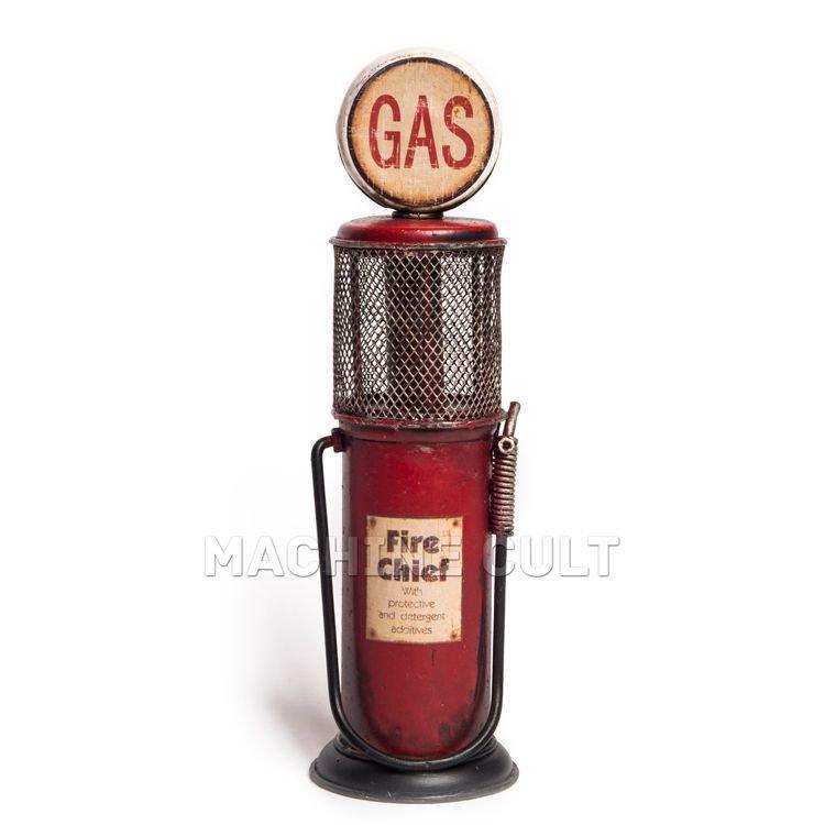 Miniatura Bomba de Gasolina Antiga