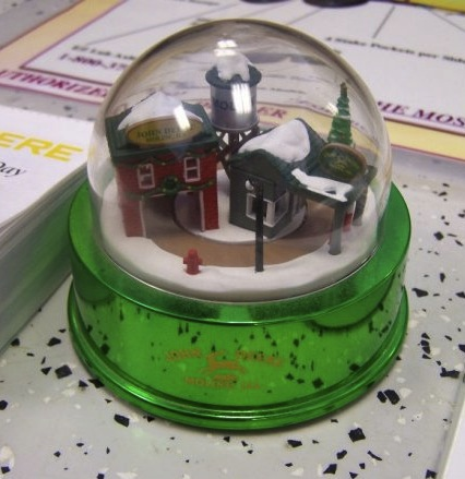 Friday Fun John Deere Snow Globes