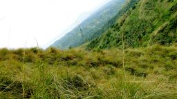 Mt Batulao - Campsite view