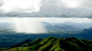 Mt Batulao - Umuulan sa dakong paroon