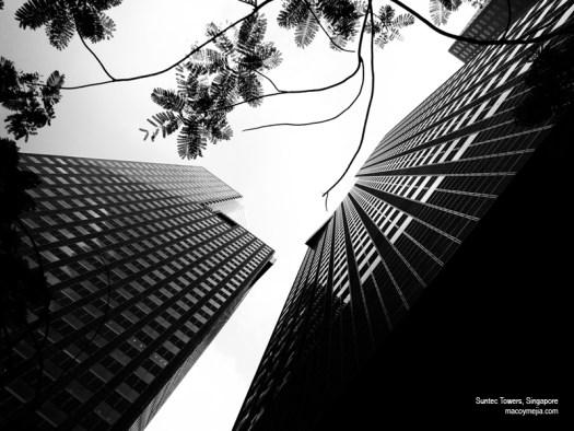 Suntec Towers, Suntec City, Singapore