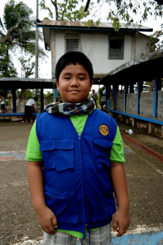 Youngest Volunteer Named Sky
