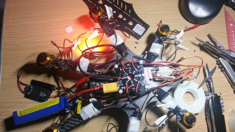 January 9 : Soldering and Rotor Testing