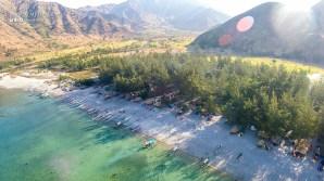 Nagsasa Cove - Aerial Shot 1