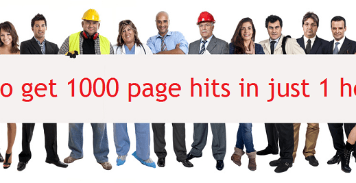 Get 1000 hits in one hour