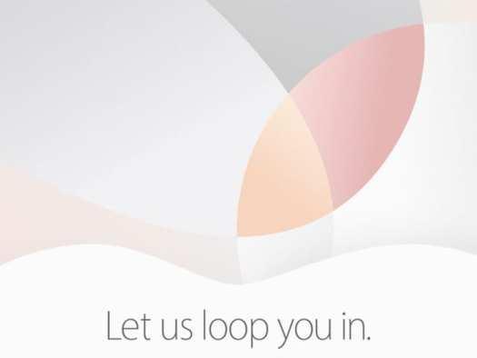March 21 2016 Apple Event Invitation