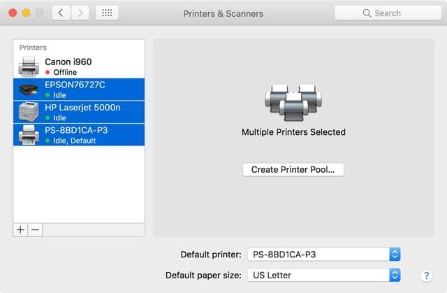 PrinterPool640