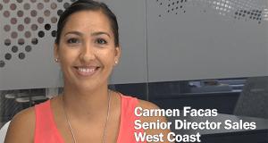 Carmen Facas, Senior Director of Sales, West Coast