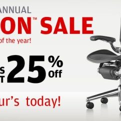 Office Chair Sale Two Seat Garden Table And Chairs Madison Seating Annual Aeron Blowout