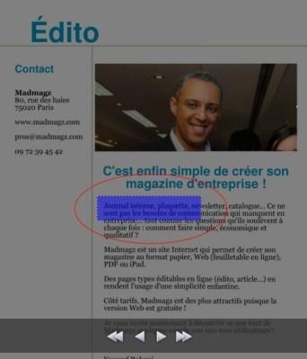 magazine interactif, magazine numérique