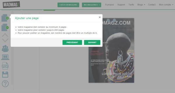 Gérer votre magazine grâce à l'onboarding de Madamgz