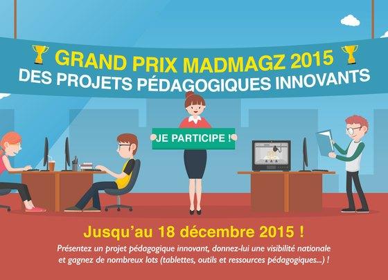 concours madmagz, grand prix madmagz, pédagogie de projet madmagz, TICE madmagz