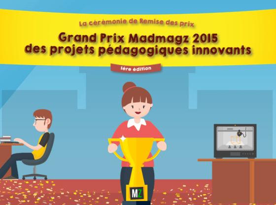 Lauréats Grand Prix Madmagz 2015
