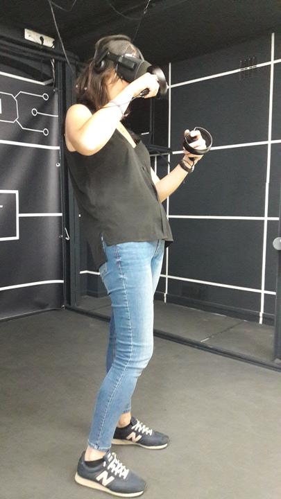 Pauline réalité virtuelle