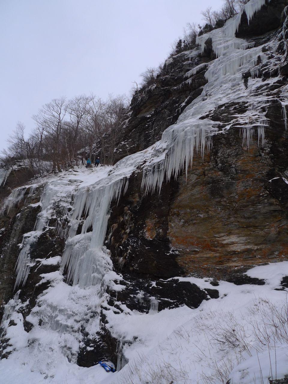 Another Ice Season Has Started Mahoney Alpine