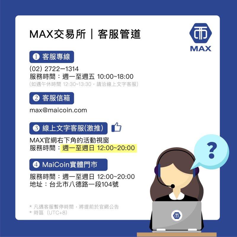 max 客服