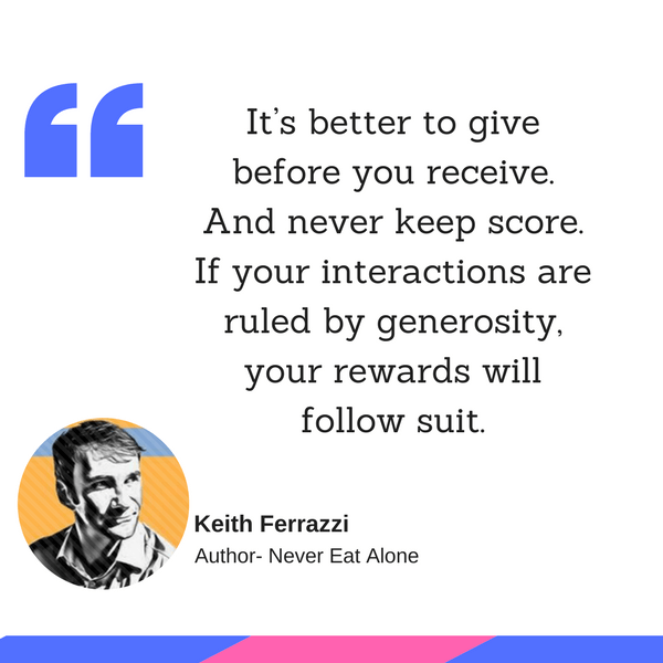 Keith Ferrazzi quotes