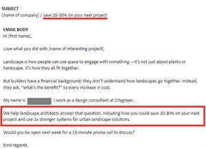 Value added cold email - Mailshake Blog