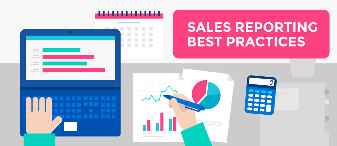 sales reporting best practices mailshake blog