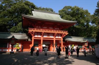 武蔵一宮氷川神社(埼玉県・大宮)