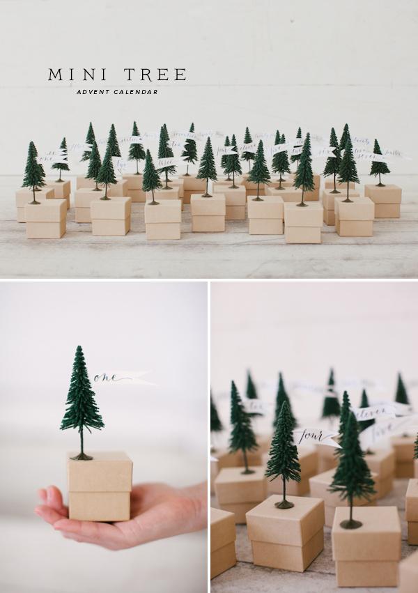 Trouvez l'inspiration pour votre déco de noel avec ce calendrier de l'avent DIY facile et tout simplement adorable