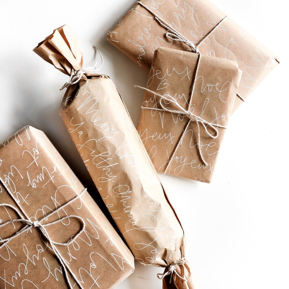 Retrouvez plein d'idée pour un emballage cadeau original en kraft