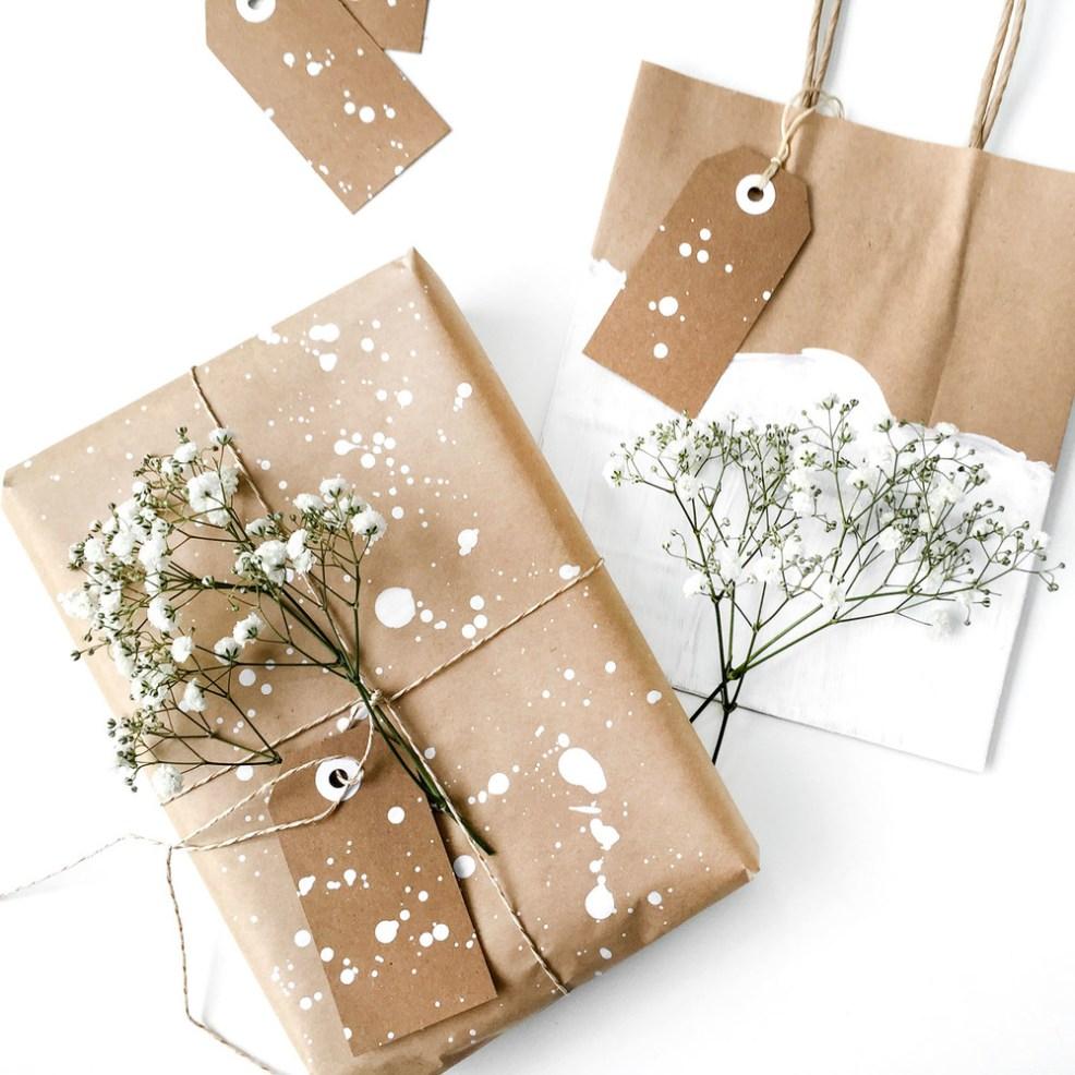 Vous vous sentez d'humeur à réaliser vous-même un emballage cadeau original ?