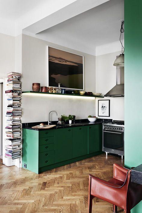 Créer un coin bibliothèque dans sa cuisine