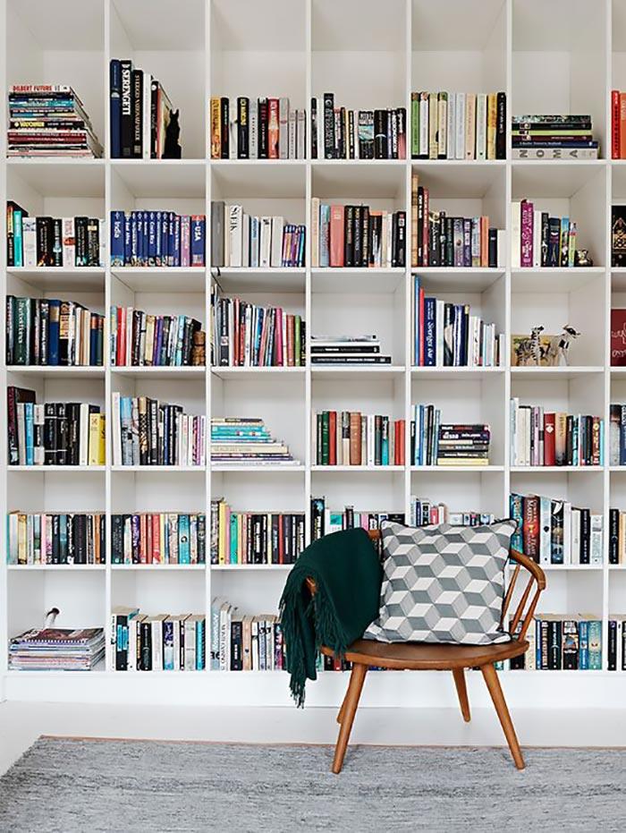 Conseils pour créer une bibliothèque murale