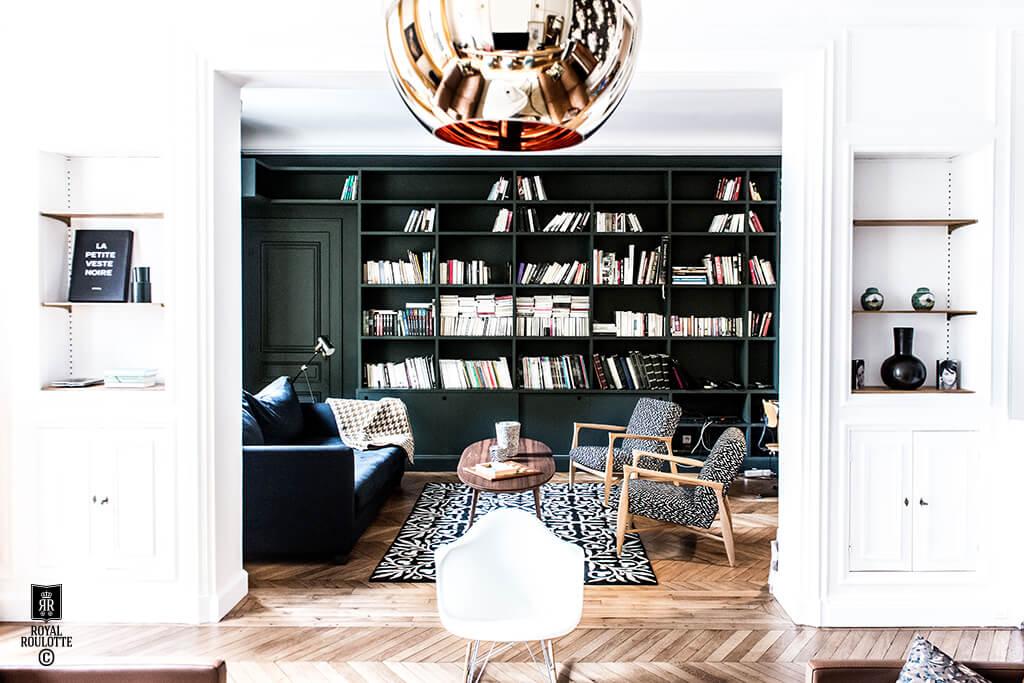 7 conseils pour amnager un mur en bibliothque  Le blog dco de latelier Maison Allaert