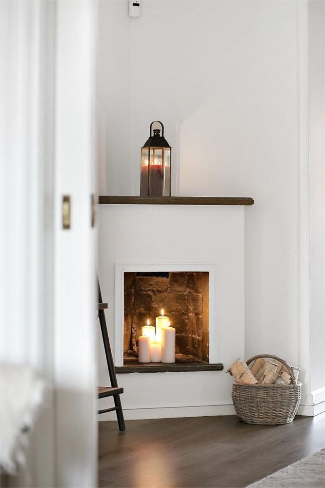 Décorer sa cheminée avec des bougies